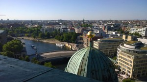 Berlin - View From St. Stephan's Church